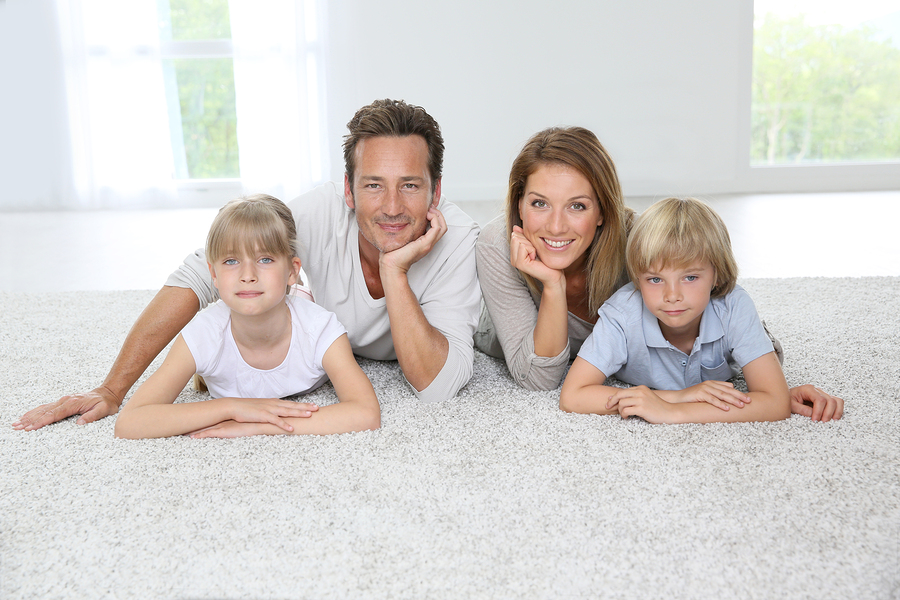 family-on-carpet